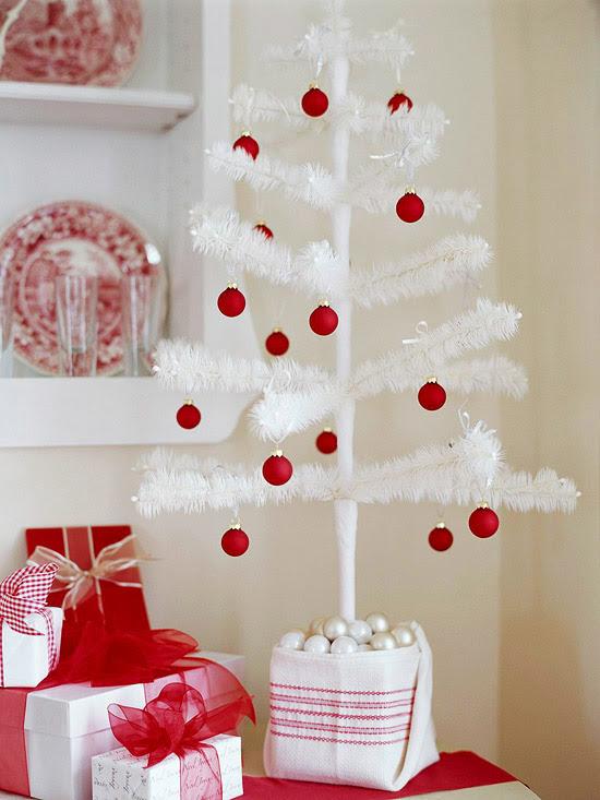 White Feather Trees