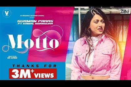 Motto Gurman Paras Lyrics New Punjabi Song