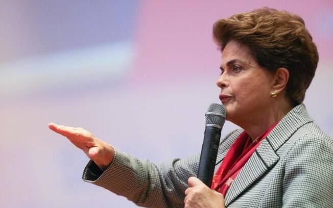 Presidente afastada Dilma Rousseff voltou a defender seu mandato durante evento na Universidade Federal do ABC