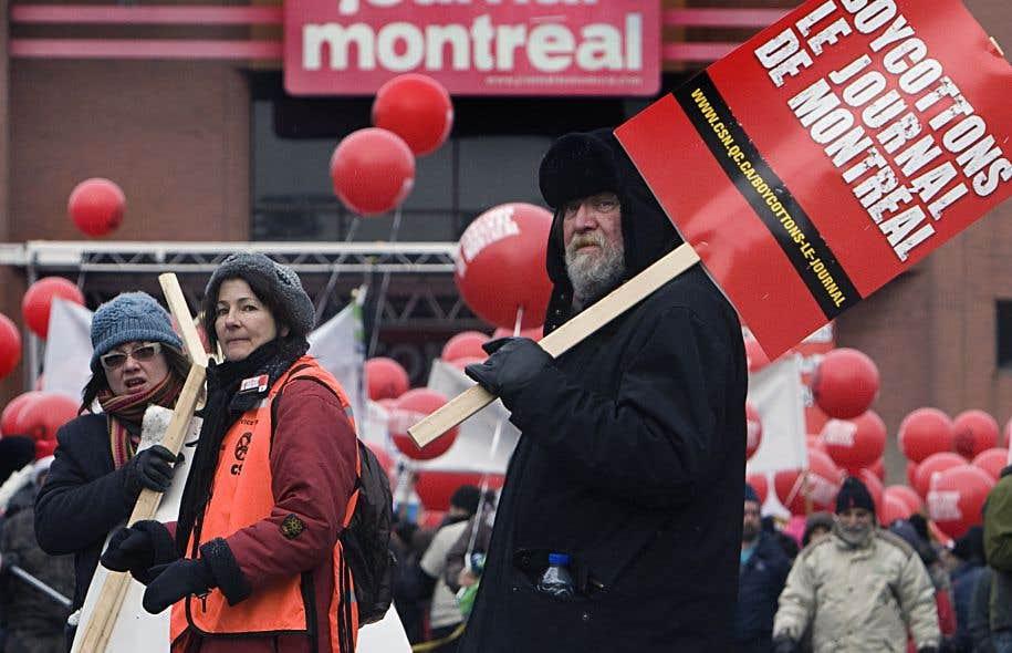 En 2009, «Le Journal de Montréal», propriété de Québecor, a été le théâtre d'un lock-out de plus de deux ans au cours duquel la loi antibriseurs de grève a pour plusieurs montré son inefficacité. Un appel au boycottage avait alors été lancé.
