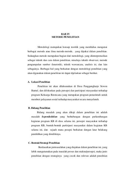 """""""PERSEPSI DAN PARTISIPASI MASYARAKAT TERHADAP PROGRAM"""