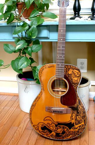 Le Second Sharpie Guitar