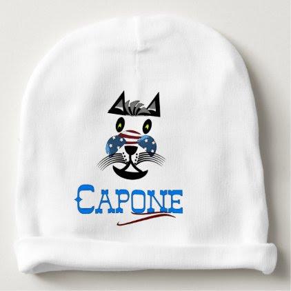 Capone baby cap in Weis Baby Beanie