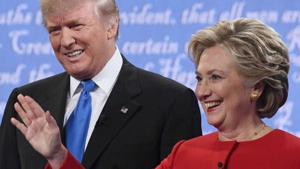 HIllary Clinton se aleja de Donald Trump en los sondeos (AFP)