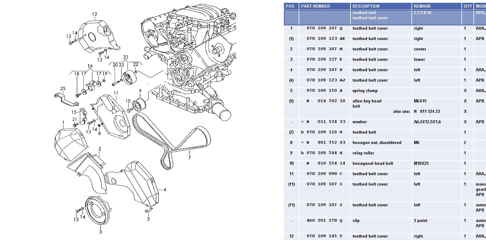 Audi S6 Engine Diagram
