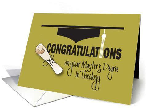Congratulations, Graduation Master of Theology,  (1361712)