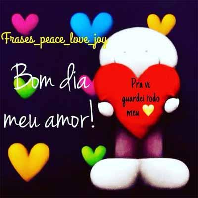 Tag Frases Romanticas De Bom Dia Para Meu Amor