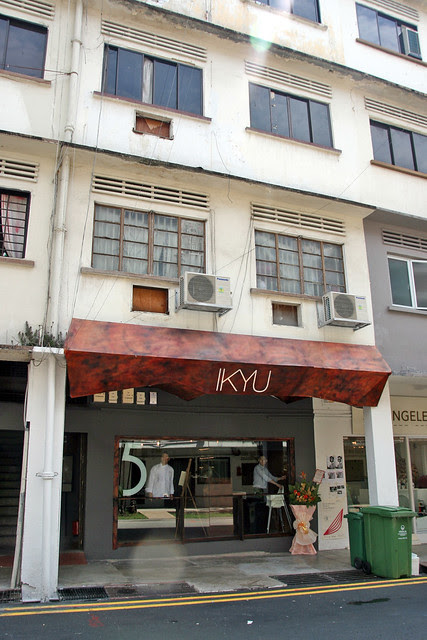 Ikyu in the newly hip old school zone of Tiong Bahru
