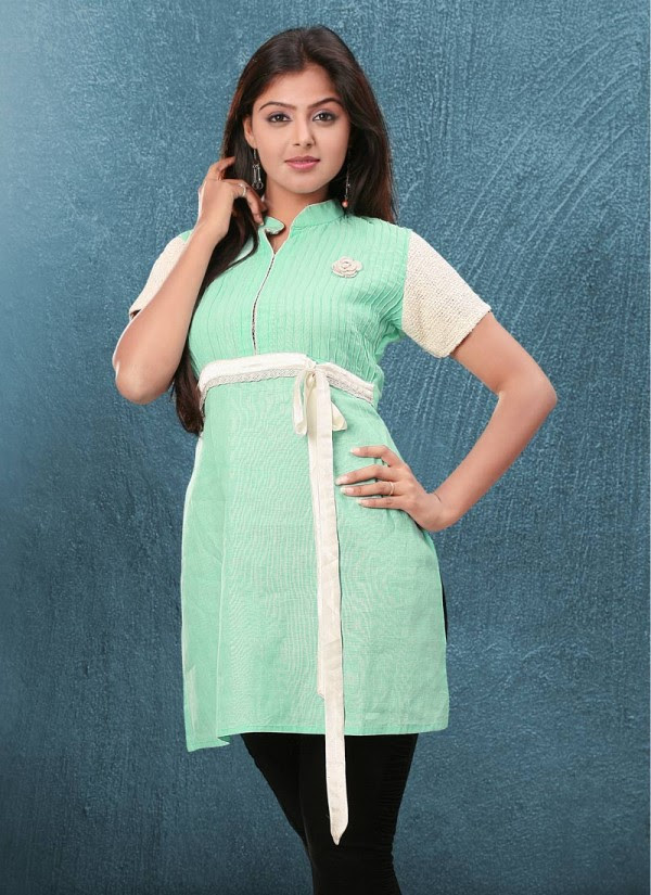 Indian-Trendy-Style-Tunic-Kurti-Designs-2013-Indian-Tunic-Kurti's-Fashionable-Dress-3