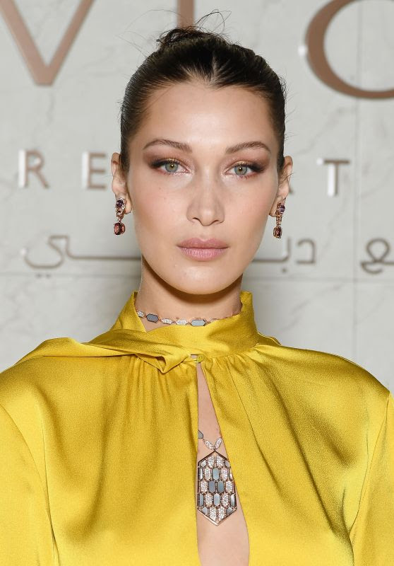 Bella Hadid - Grand Opening of Bulgari Dubai Resort in Dubai
