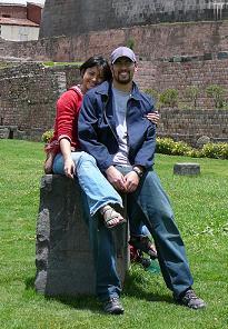 John & Lisa in Peru, 2007