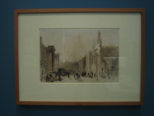 Saint Paul's from Saint Martin's-in-the-Fields, William Evans of Bristol _ 1918
