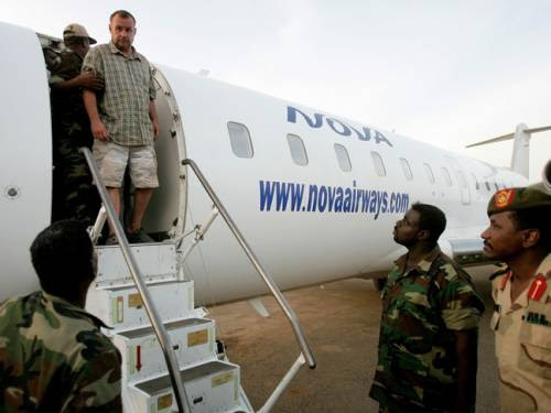 One of the four foreigners taken into custody by the Sudan government. The four were reportedly arrested in Heglig in South Kordofan state. by Pan-African News Wire File Photos