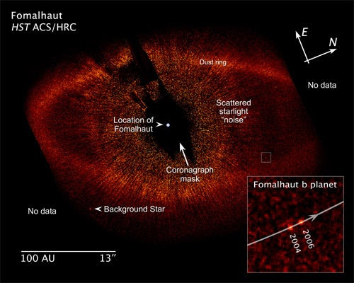Astronomers Take First Ever Pics of Other Planetary Systems