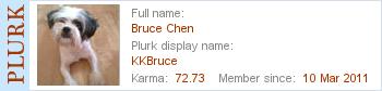 迎歡加入 KKBruce 的Plurk 好友