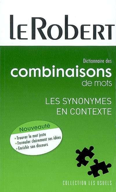 Dictionnaire des combinaisons de mots