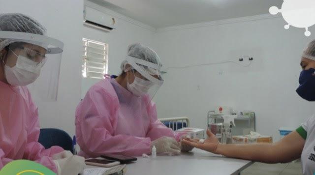 Secretaria de Saúde de Malta realiza 22 testes rápidos para diagnosticar Covid-19
