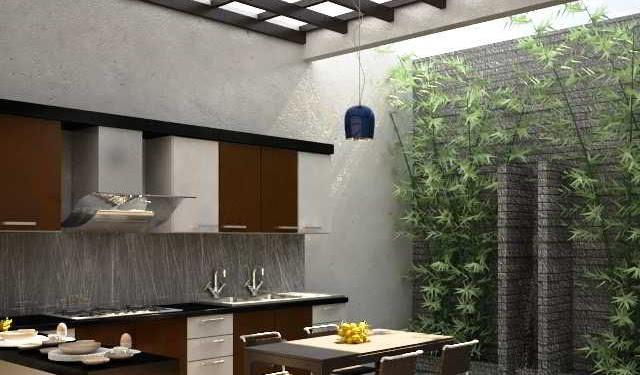 Desain Dapur Dan Ruang Makan Terbuka Minimalis Terbaru