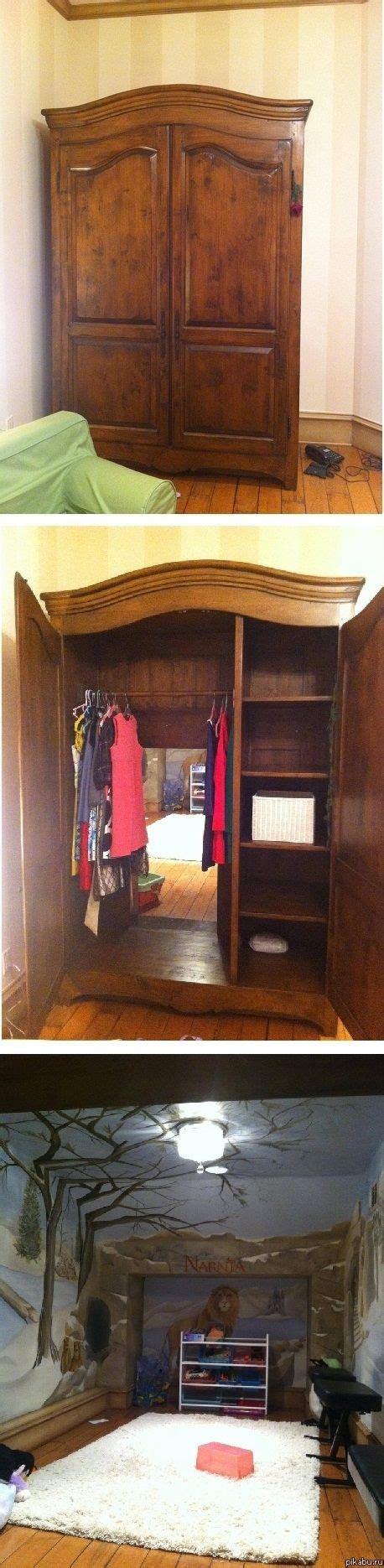 real narnia wardrobe   home hidden rooms
