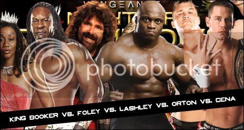WWE Vengeance: Night of Champions 2007 - Raport