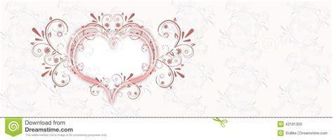 Wedding Background Banner Stock Illustration   Image: 43181300