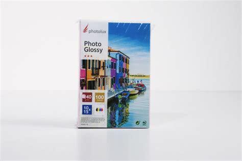 fotopapier photo glossy   fuer epson ecotank