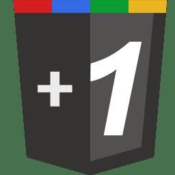 google+plus+1+symbol+button