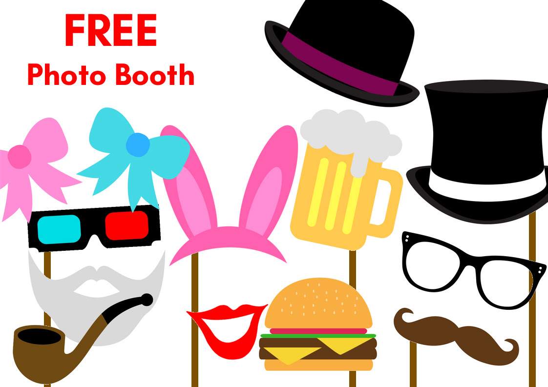Free Printable party Photobooth Props Any Occasion