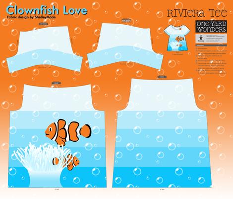 Clownfish Love - Riviera Tee