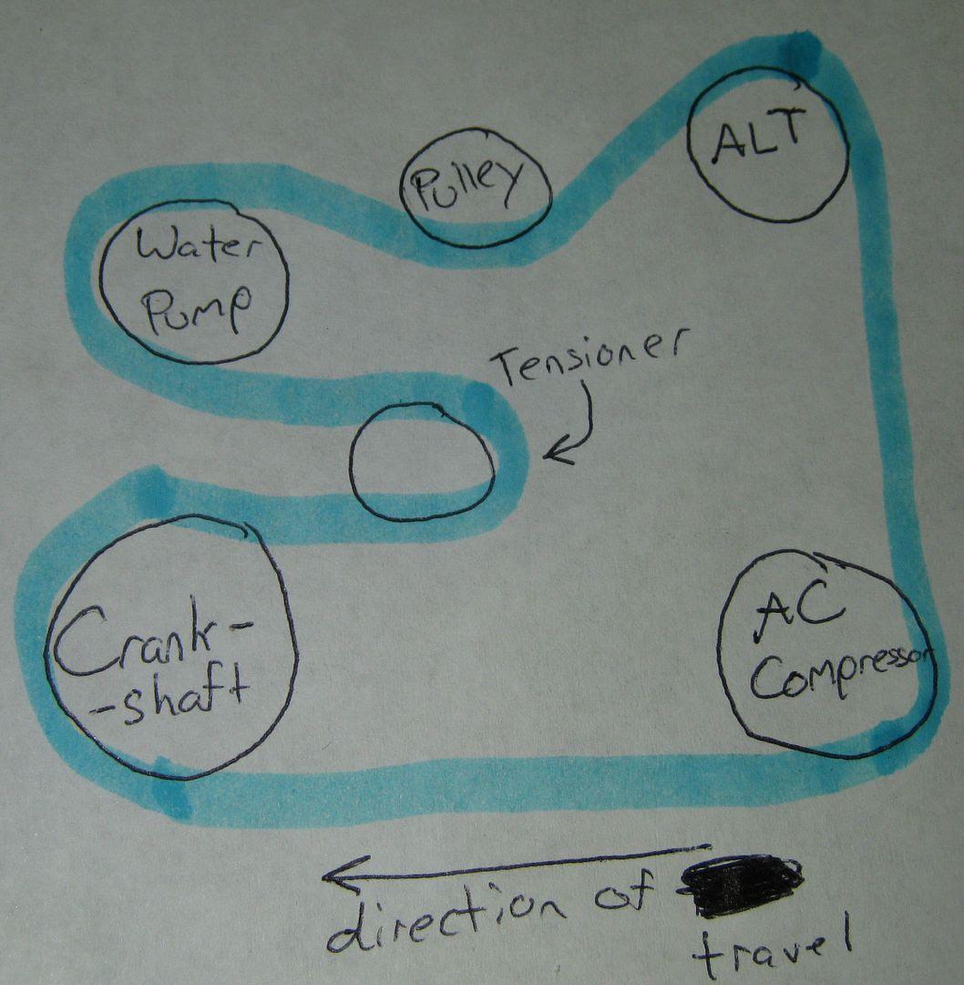 2004 Toyota Rav4 Serpentine Belt Diagram