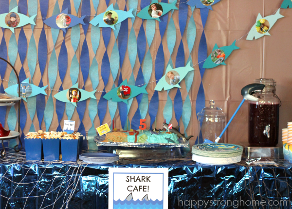 Shark Birthday Party Ideas For Kids Happy Strong Home