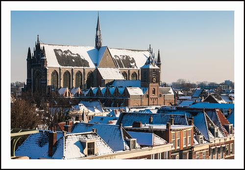 Hooglandse Kerk Leiden by hans van egdom