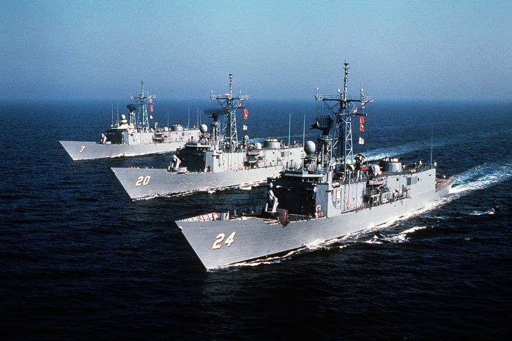 Fragatas clase Oliver Hazard Perry para la Marina de México