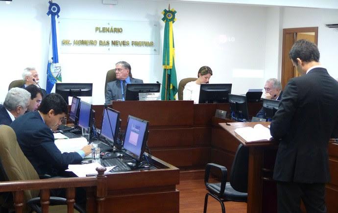 Felipe Julgamento TJD (Foto: Globoesporte.com)
