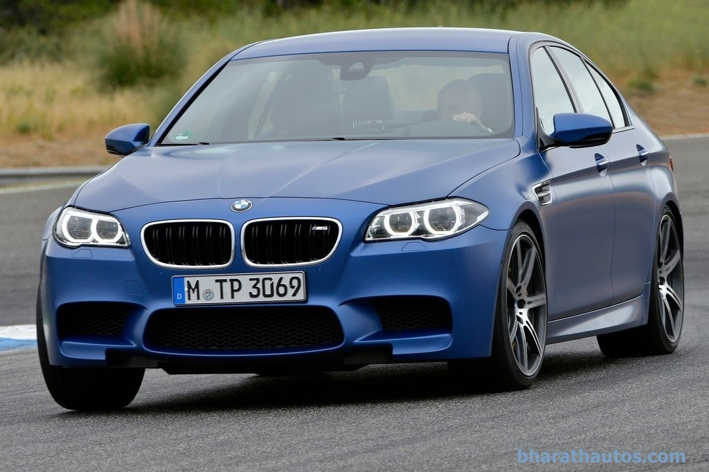particularly striking innovation in the appearance of the new M5 is ...