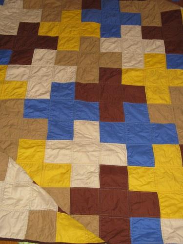 Dead Simple Cross quilt
