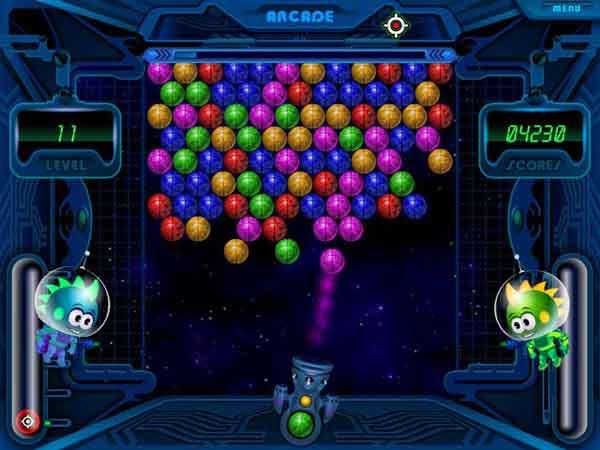 لعبة Space Bubbles