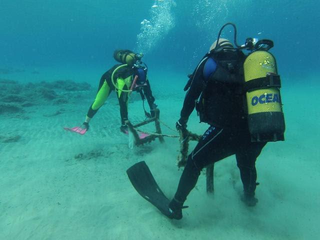 Υποβρύχια δράση στη Σκόπελο