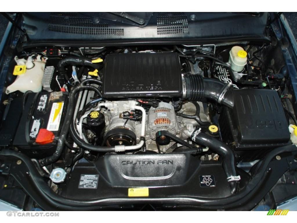 2002 Jeep Grand Cherokee Engine 47 L V8 - Top Jeep