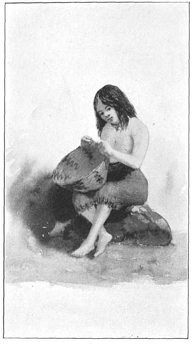 Drawing of a Yosemite Maiden