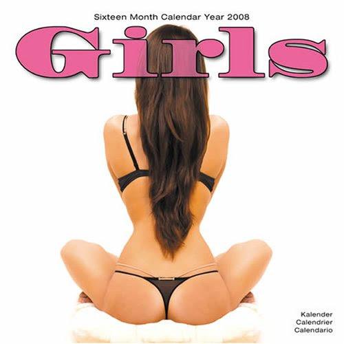 Sexy Girls 2008 Wall Calendar (Calendar)