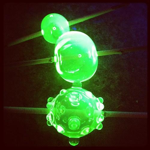 Glowing beads