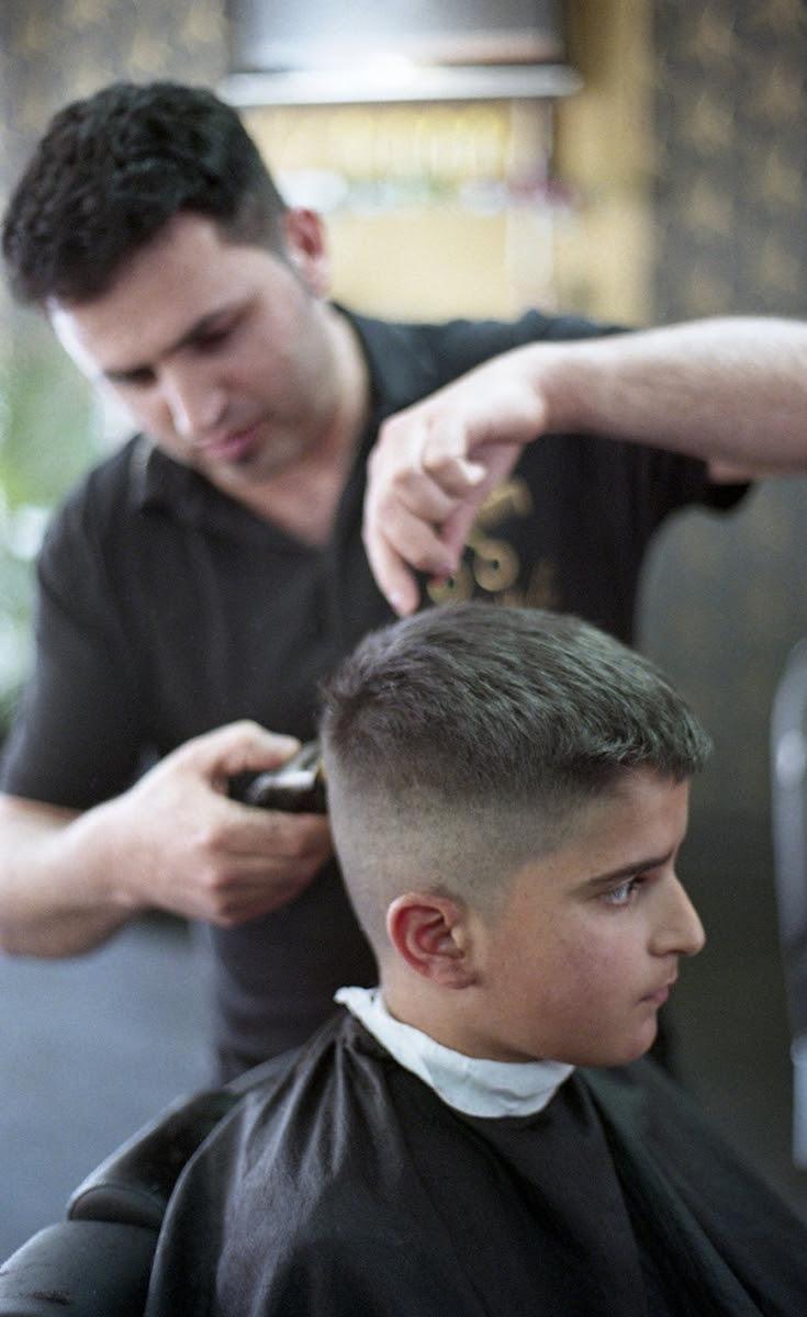 Männer boxerschnitt Haircuts Usa