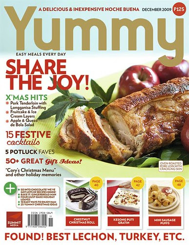 Yummy-Share-The-Joy DECEMBER ISSUE COVER