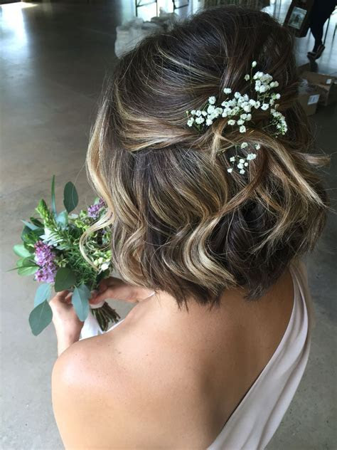Pin by Lyss Laurens on Short Hairstyles   Short wedding