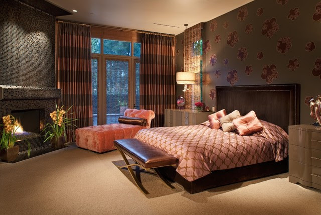 Hollywood Glamour Meets Modern - modern - bedroom - san diego - by ...