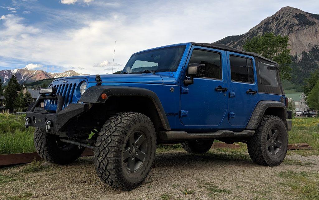 Jeep Rentals In Colorado