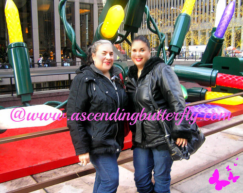 us in front of big lights pre rockefeller center 2012 WATERMARKED