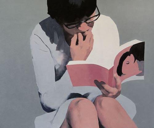 That reading more exciting! / Que lectura más emocionante! (ilustración de Jarek Puczel)