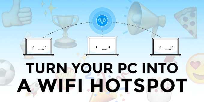How to set-up a working Hotspot on your Computer Using CMD